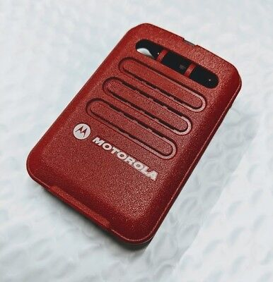 Motorola Minitor Vi 6 Front Housing - Red