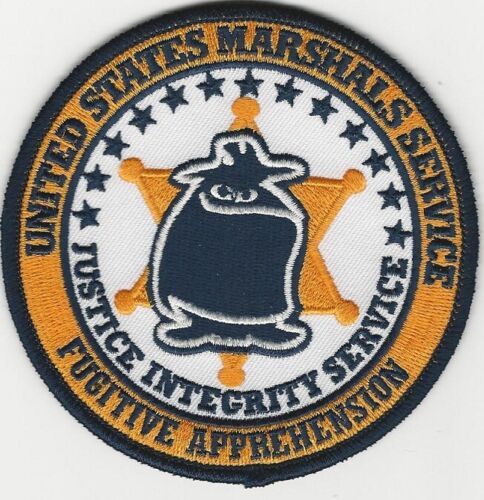 USMS US Marshal Fug Apprehesion Ghost Patch Police Sheriff