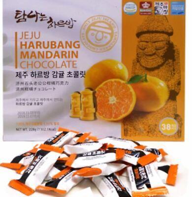 Jeju Harubang Mandarin Chocolate 38 pcs Jeju Island Tangerine White Day Present