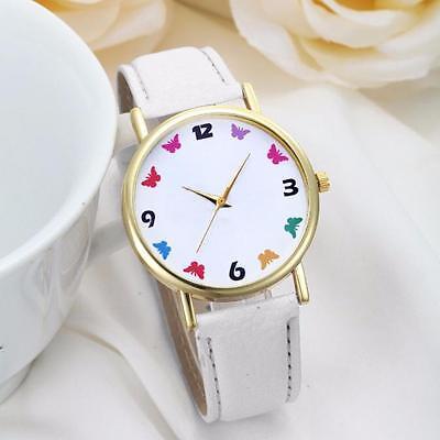 Fashion Women Watches Leather Band Quartz Analog Dress Wrist Watches Gift New
