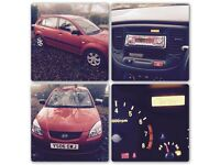 Kia Rio 2006 Red 5 door hatchback. Daily runner. Good condition in and out.