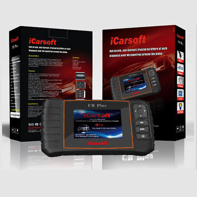 iCarsoft CR Plus OBD2 Professioneles Diagnose Gerät CANBus Universal