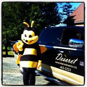 Bee Mascot Job, Apply today for your Fun and easy job!!!
