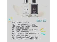 Luxury parfums without the tag!! (Dior, Chanel, CK)