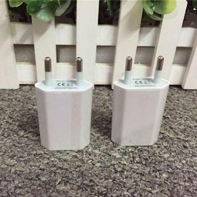 European USB Power Adapter EU Plug Collapse Travel Charger for iphone for Samsung S8