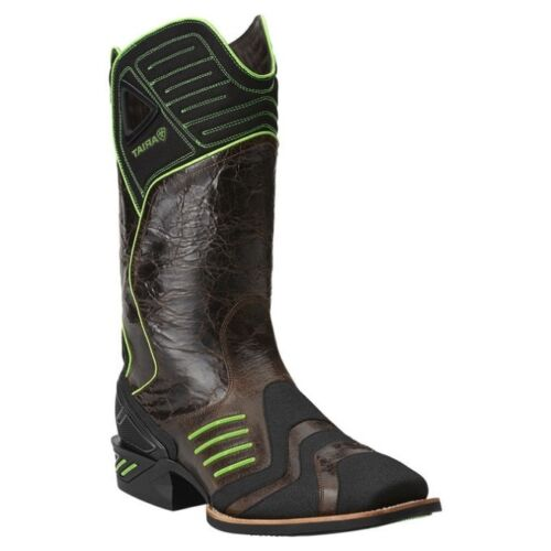 Ariat Men's Catalyst VX Square Toe Distressed Cowboy Boots 1