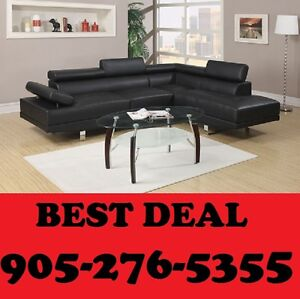 2PCS ULTRA MODERN SECTIONAL SET ONLY $899.00