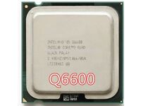 Intel core 2 quad 6600 cpu lga 775