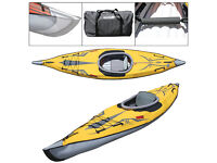 ADVANCEDFRAME EXPEDITION INFLATABLE KAYAK +£100 WORTH OF ACCESSORIES
