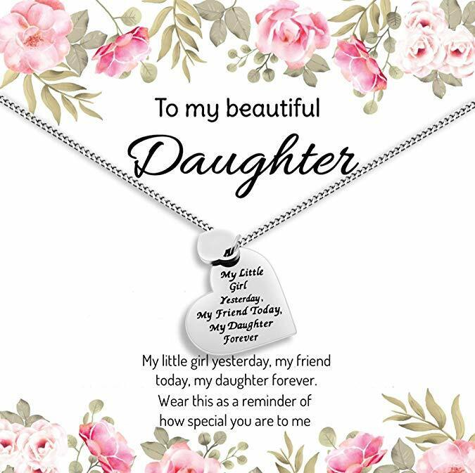 Daughter Gift from Mom or Dad - ''My Little Girl Yesterday M