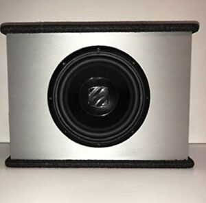 2 x 10 inch powered subwoofers