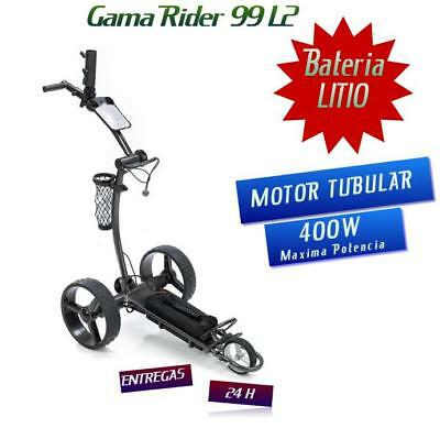 CARRO DE GOLF ELECTRICO L2 LITIO 400W TUBULAR ENT 24H ELECTRIC GOLF...