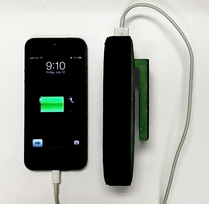 Strom aus der eigenen Körperkraft gewinnen? (Copyright: MyPower)