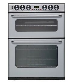 New World Duel Fuel Silver Cooker/Oven~NEW