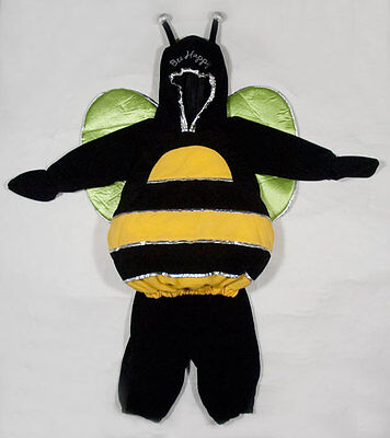 MINIWEAR SIZE 6-9M BUSY BUMBLE BEE HAPPY HALLOWEEN COSTUME INFANT BOYS - Busy Bee Halloween Costume