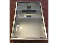 WALL MOUNTED LOCKABLE MEDICINE CABINET STAINLESS STEEL