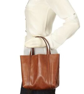 Soft leather mini tote