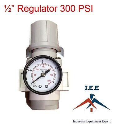 Air Pressure Regulator For Compressor Compressed Air 12 Free Gauge