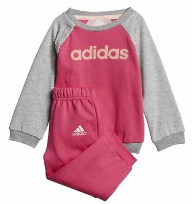 Adidas chandal para bebe niña 6 meses rosado/gris deportivo