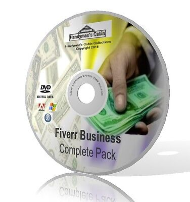 Fiverr Business Complete Pack   Videos  Guides    More  Online Business Dvd