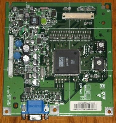 DELL LCD Flat Panel Display E151FPp - Main Logic Control Board, Computer Monitor Lcd Flat Panel Computer