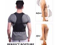 Unisex Back Shoulder Brace Belt NEW