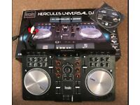 Hercules Universal DJ Mixer with Bluetooth