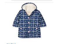 Child's Hearts Splash Jacket with Faux Sherpa Lining, BNWT £25,