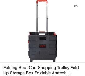 FOLDABLE SHOPPING/TOOLS /CRAFT TROLLY