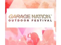 4 x Garage nation tickets
