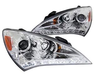 Genesis coupe headlights