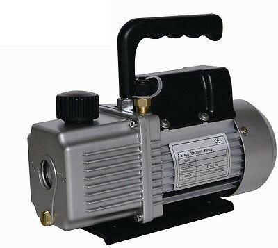 3cfm Two Stage Electric Vacuum Pump Air Conditioner Refrigeration New Free Sh