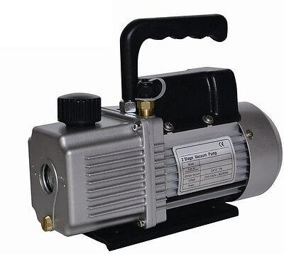 New 9.0 Cfm 9cfm Two 2 Stage 1hp Vacuum Pump Air Conditioner Refrigeration