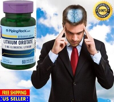 #1 Best Anti-Anxiety Stress Relief Anti Depression Supplement Pills 60