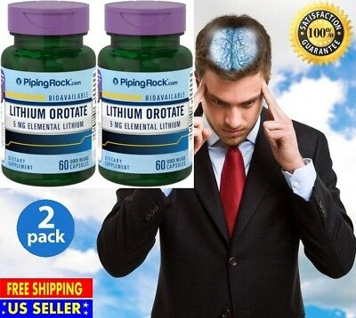 #1 Best Anti-Anxiety Stress Relief Anti Depression Supplement Pills 120