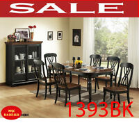 Model 1393BK-78, dining set