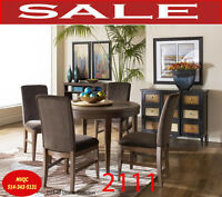 Model 2111-48 5pc, dinette set, kitchen furniture