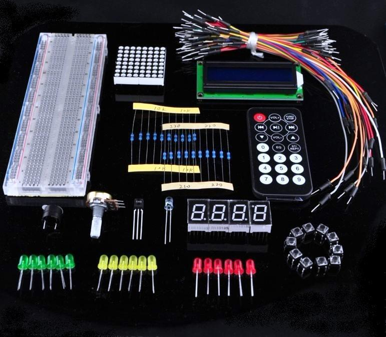 Basic Kit For Arduino  (For Beginners)