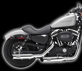 Kern Rock Exhaust for Harley-Davidson Sportster XL883/1200 2014-onwards