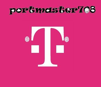 Prepaid Numbers For Port! Any area code! - T-Mobile message area code desired