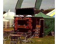 Festival catering trailer