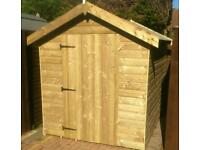 Shed 7x5 apex new