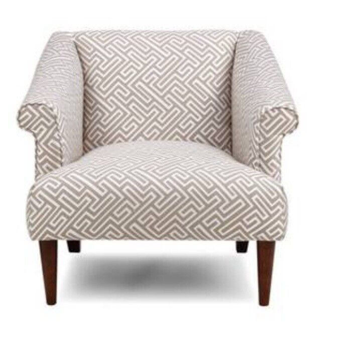 Brand new DFS cocktail armchair cream and taupe with wooden legs | in  Clapham, London | Gumtree