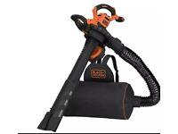Black+Decker BEBLV300 3 in 1 Electric Leaf Vacuum & Leaf Blower