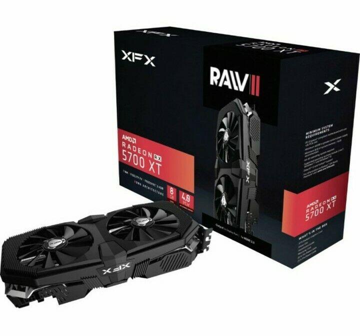 Brand New 2020!! -XFX - AMD Radeon RX 5700 XT RAW II 8GB GDDR6 PCI Express 4.0