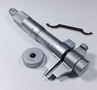 1pcs Inside Micrometer 5-30mm 0.01mm Caliper Precision Metric Measure Tool