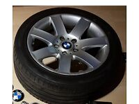 """17""""& 18"""" Genue BMW Alloy's with tyres"""