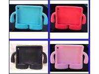 Childrens Ipad cases, foam, shockproof, stand alone, carry handle.