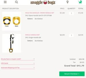 BNIB Hold-on Handles for Strollers