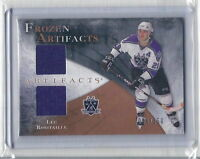 Luc Robitaille Game-Used Jersey L.A. Kings 2010-11 Hockey Card